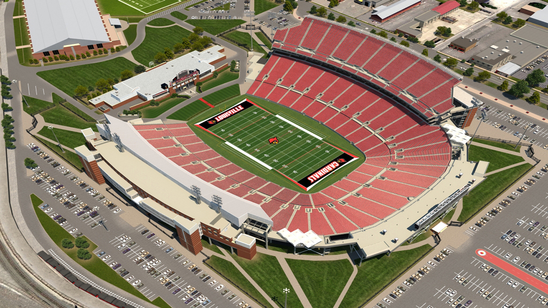 Louisville Football Virtual Venue™ by IOMEDIA on